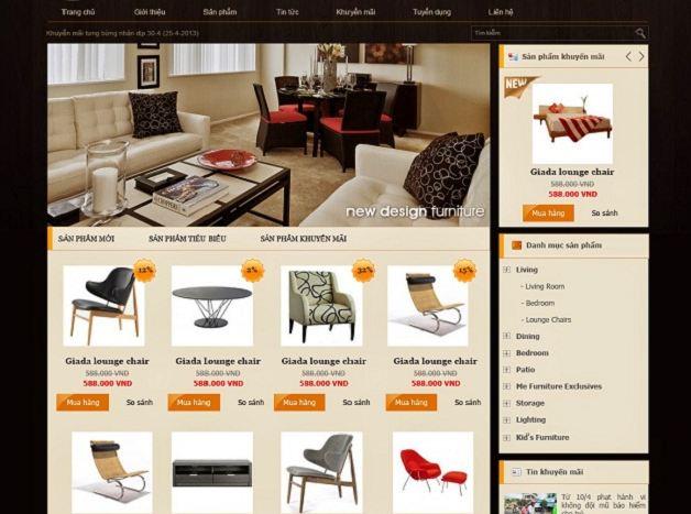 Mẫu website bán hàng chuyên nghiệp - Amazon