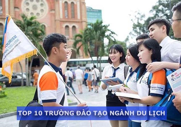 Top 10 trường đào tạo ngành du lịch