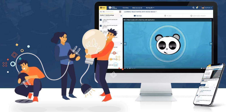 phần mềm dạy học trực tuyến Mona eLMS