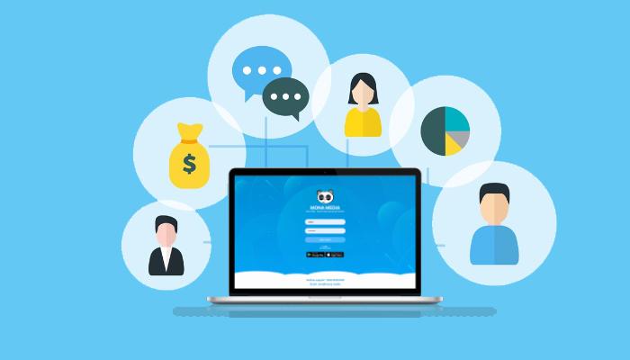 Phần mềm quản lý bán hàng - Mona Media