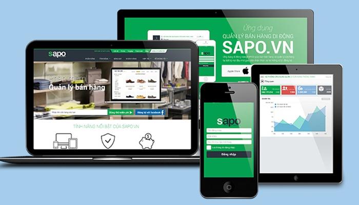 Phần mềm quản lý bán hàng văn phòng phẩm - SAPO