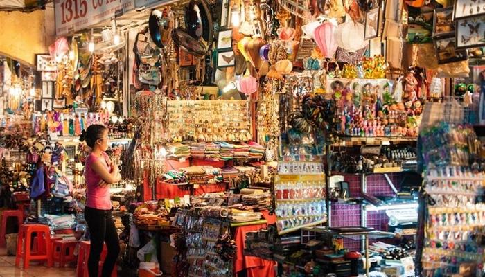 Lấy hàng đồ lưu niệm tại các chợ đầu mối Trung Quốc